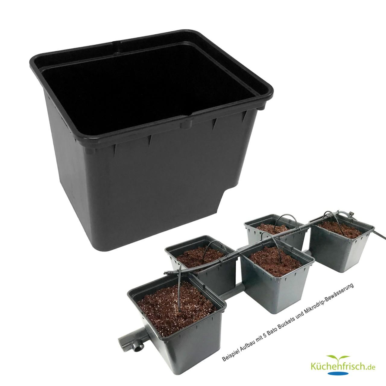 Bato / Dutch Bucket 11 L Behälter mit Auslaufwinkel