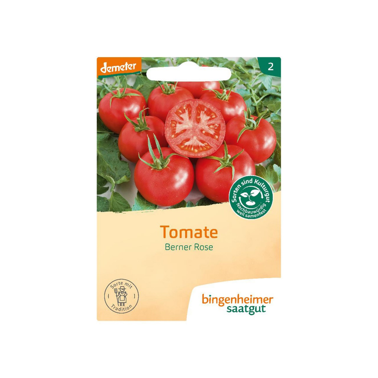 Bingenheimer Tomate Berner Rose Bio-Samen