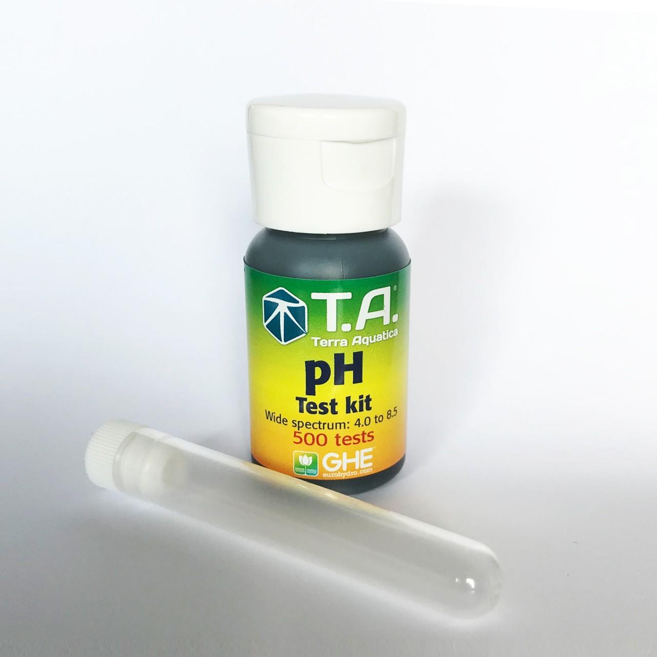 GHE pH Test kit pH 4,0 - 8,5