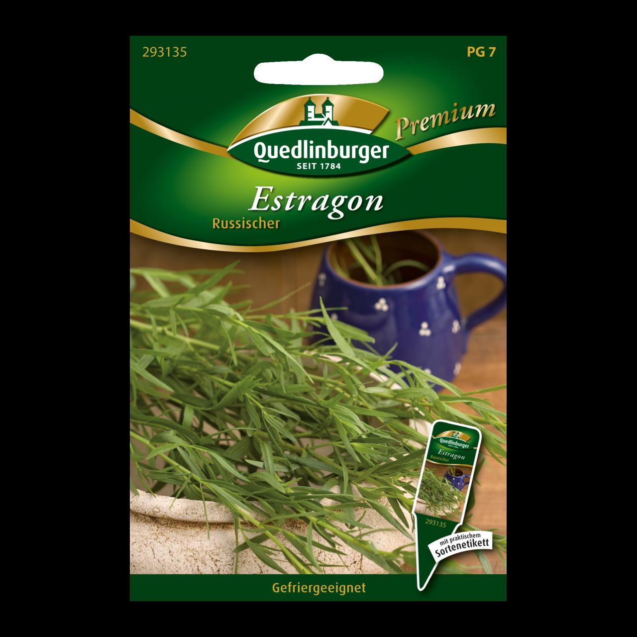 Quedlinburger Saatgut Estragon Vorderseite