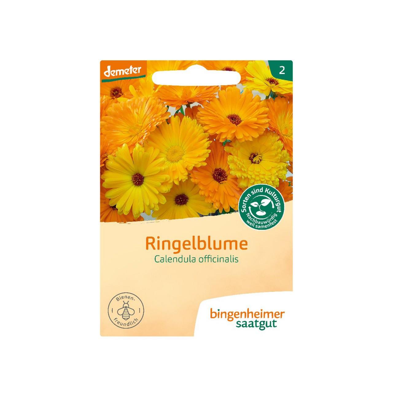Bingenheimer Saatgut Ringelblumen Bio-Samen