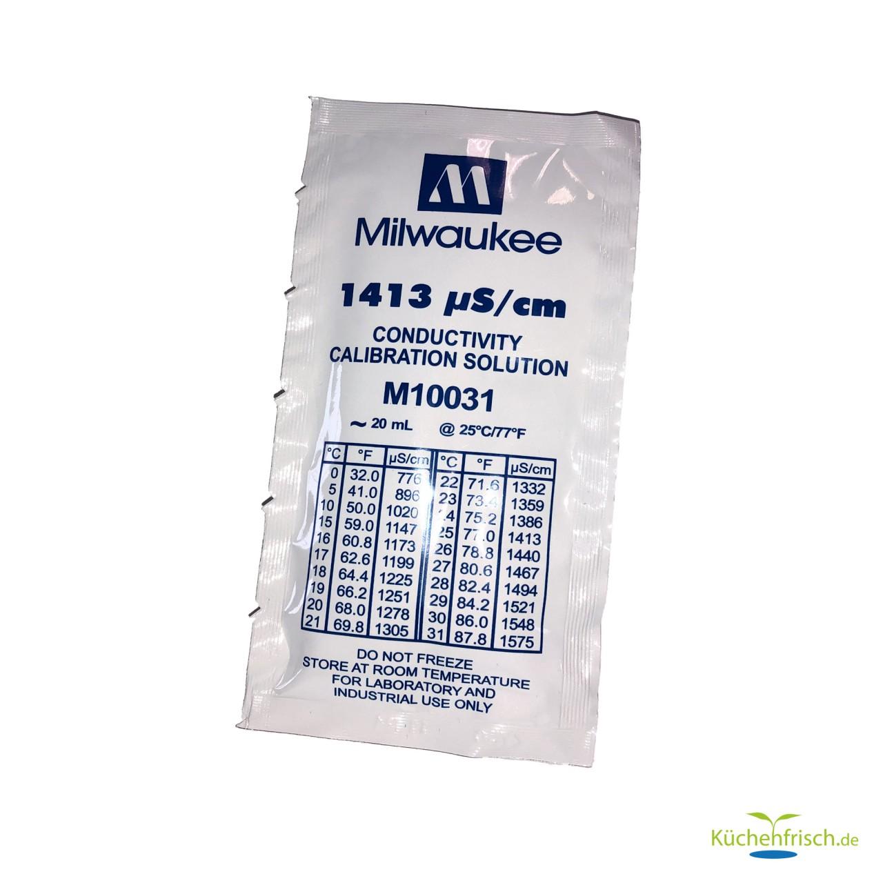 Milwaukee Kalibrierflüssigkeit 1413 µS/cm