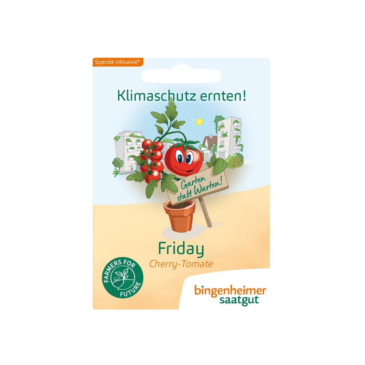 Bingenheimer Cherry Tomate Friday Bio-Samen - Friday For Future