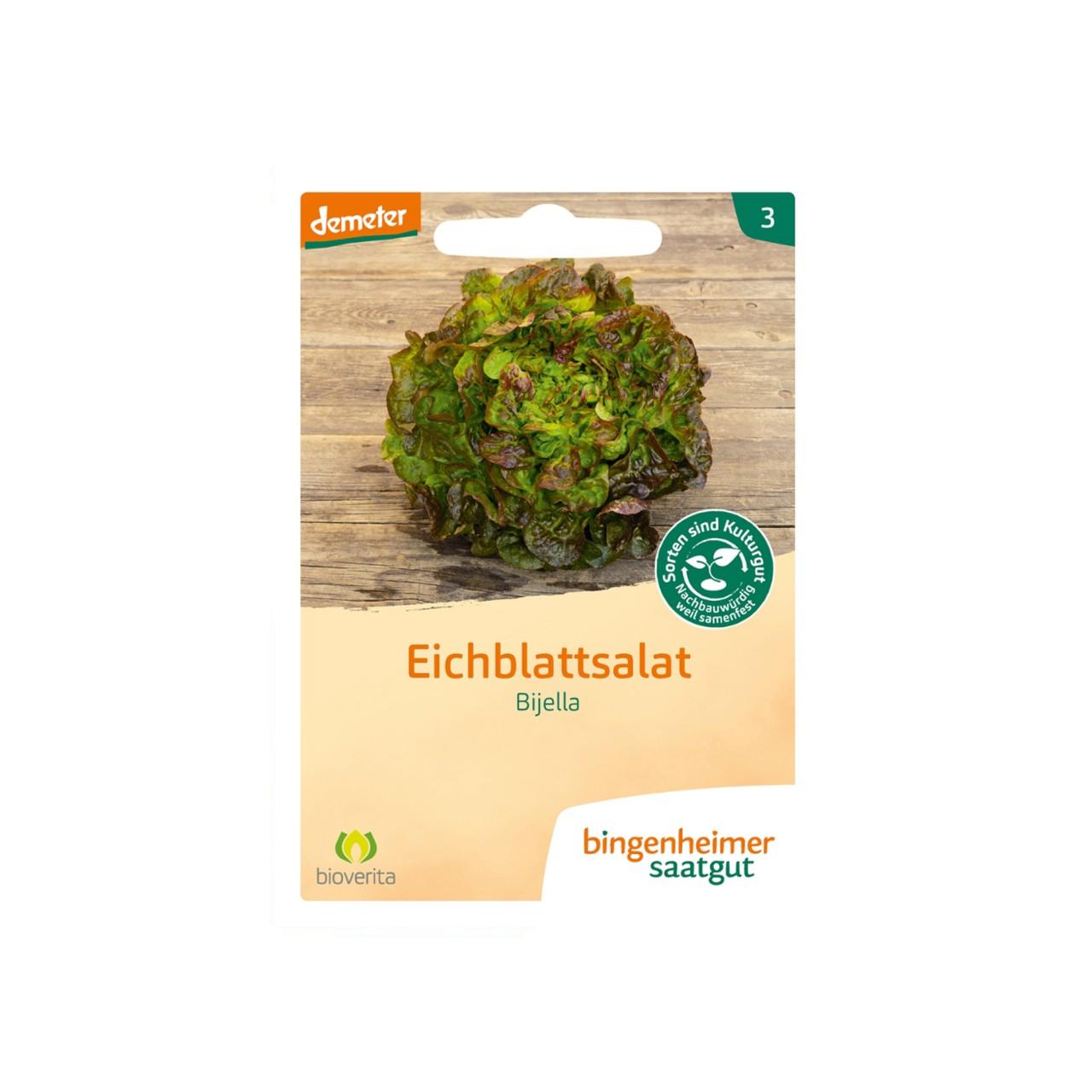 Demeter Eichblattsalat Bijella