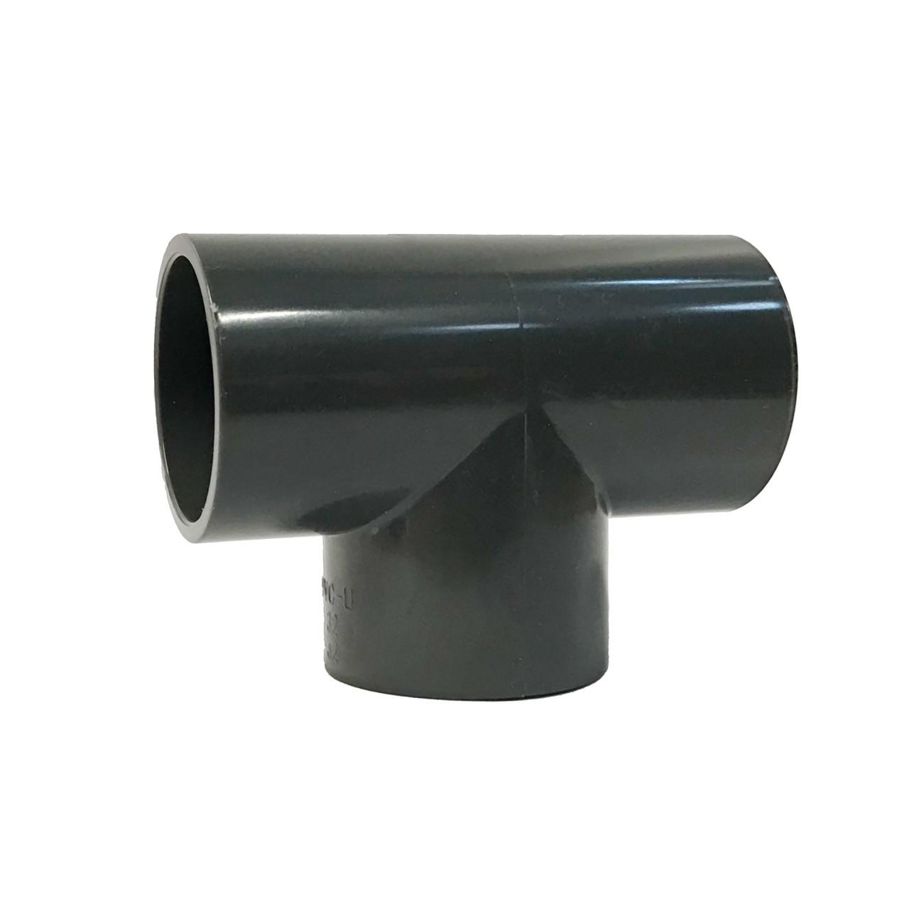 PVC-U T-Stück 90° dreifach Klebemuffe 50 mm