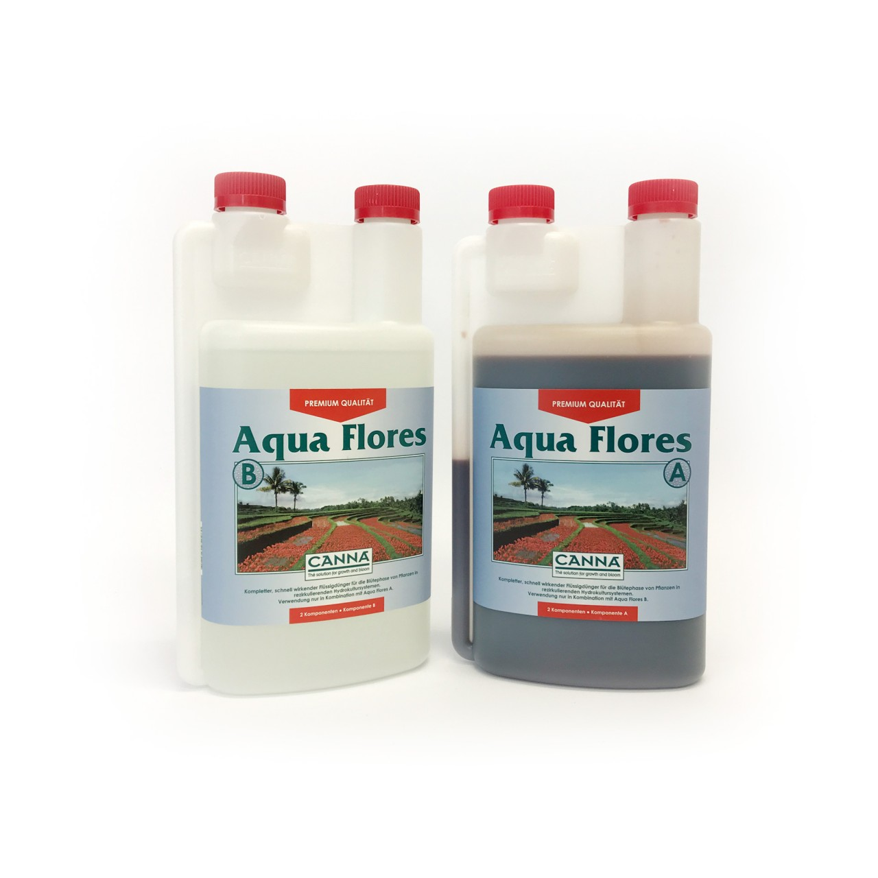 CANNA Aqua Flores A und B je 1 Liter