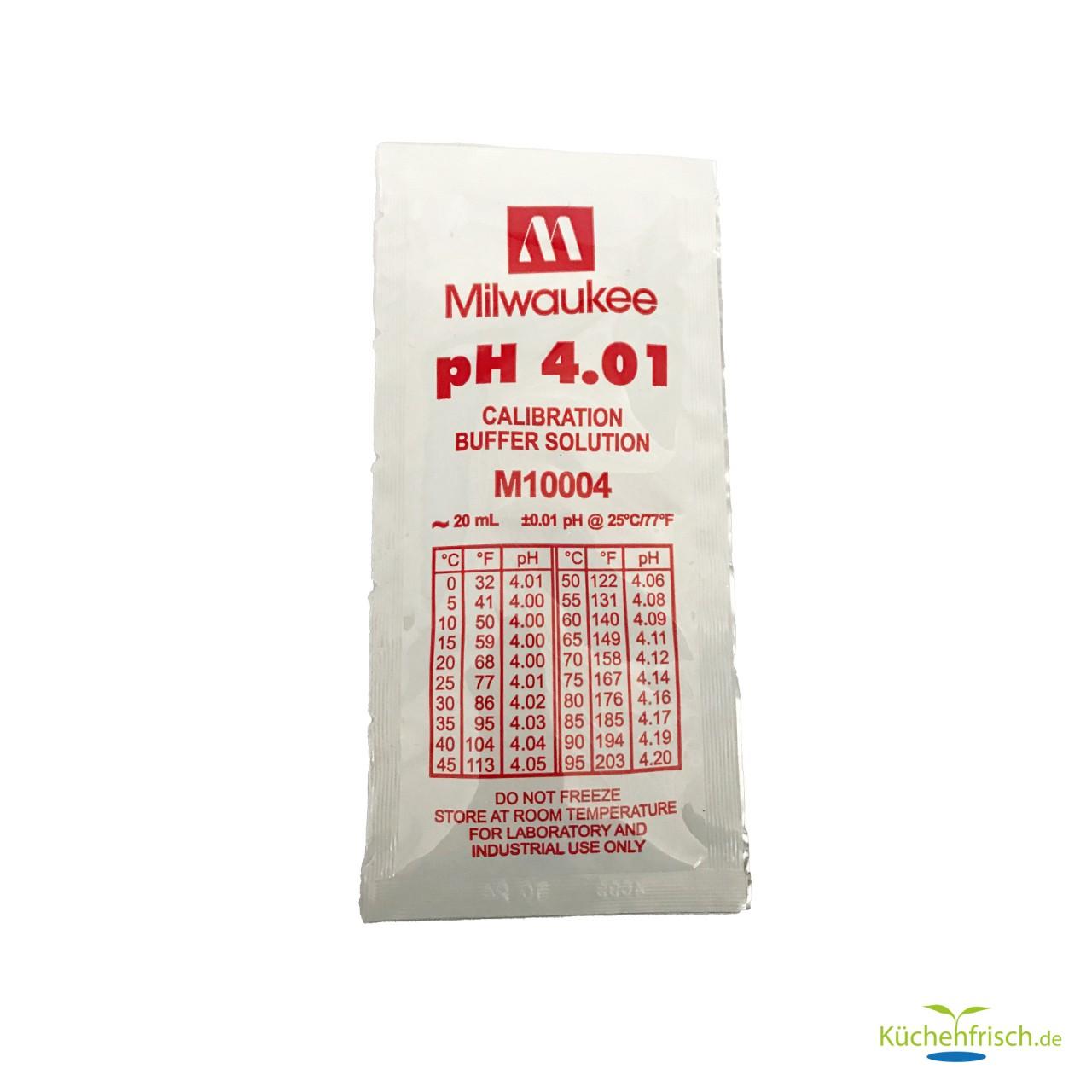 Milwaukee Kalibrierflüssigkeit pH 4.01