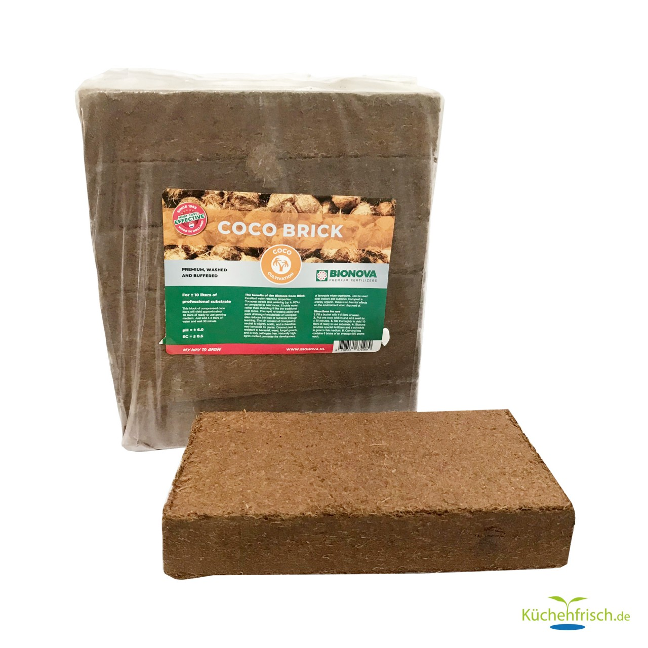 Bionova Coco Brick - Cocos Sunbstrat