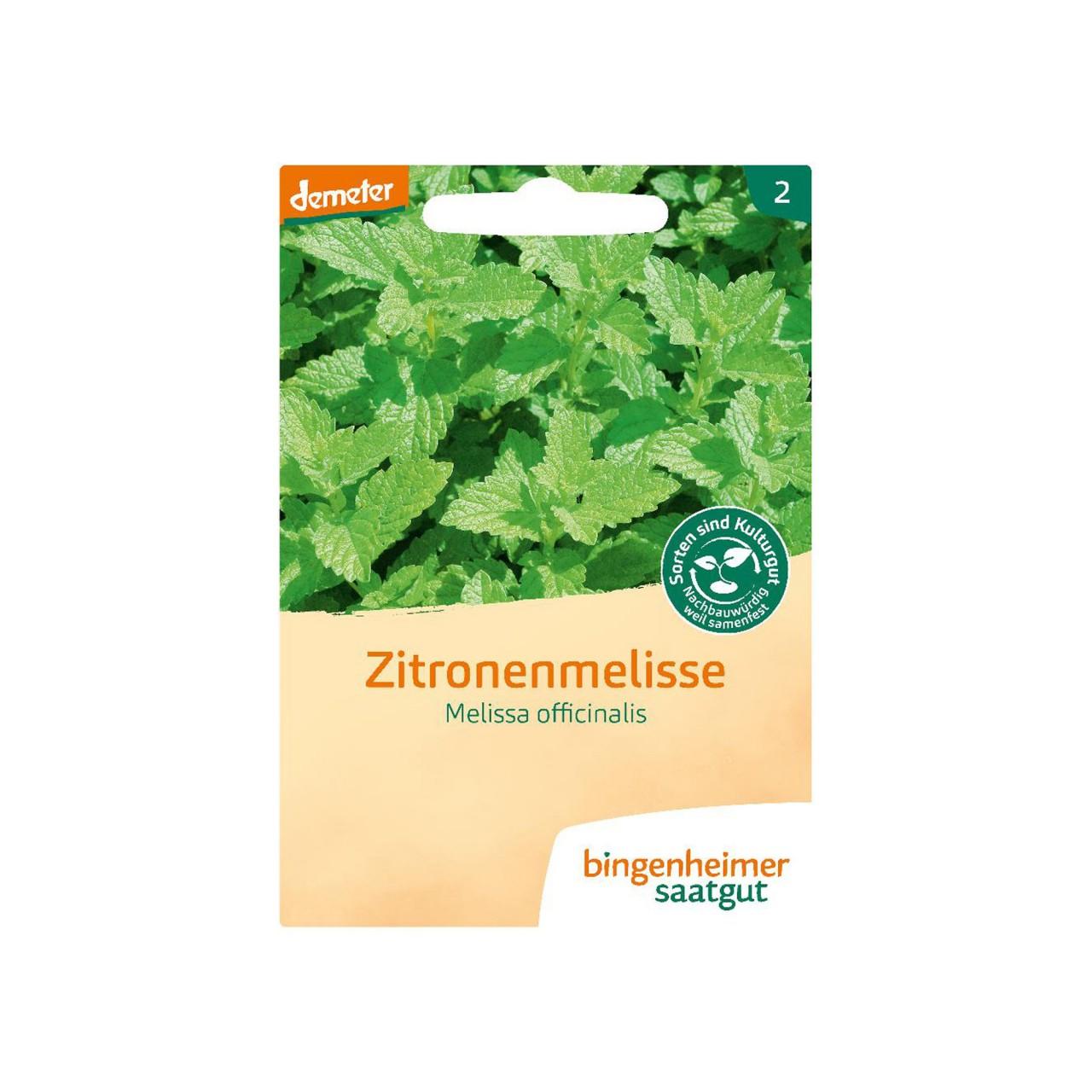 Bingenheimer Zitronenmelisse Bio-Saatgut