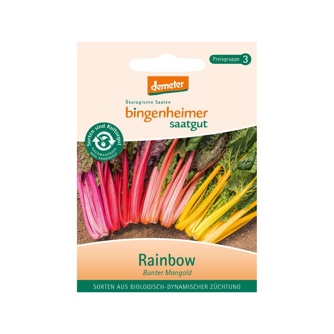 Mangold bunt - Rainbow - Bio-Samen