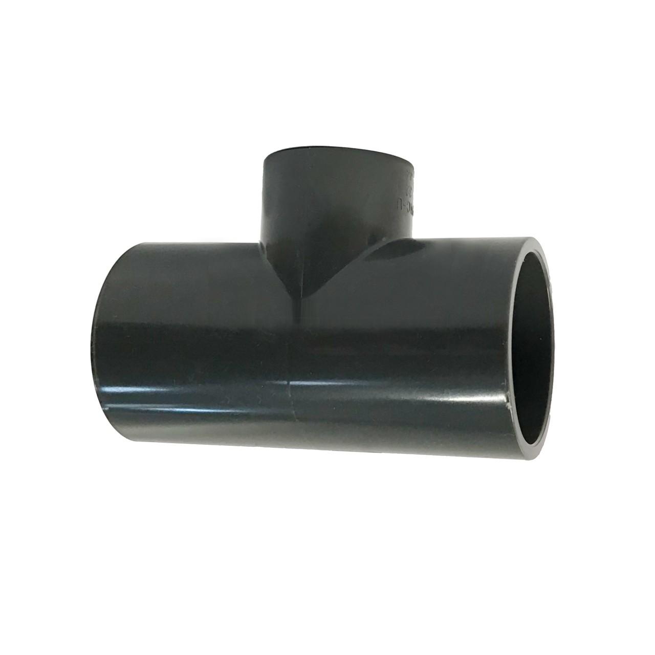 PVC-U T-Stück reduziert dreifach Klebemuffe 50 x 32 mm