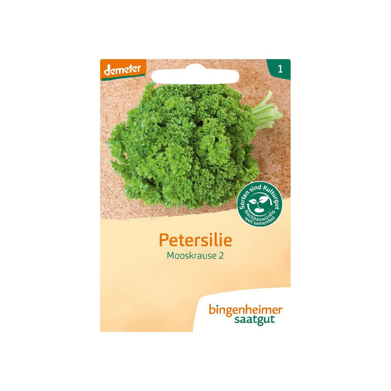 Petersilie kraus - Mooskrause 2 - Bio-Samen