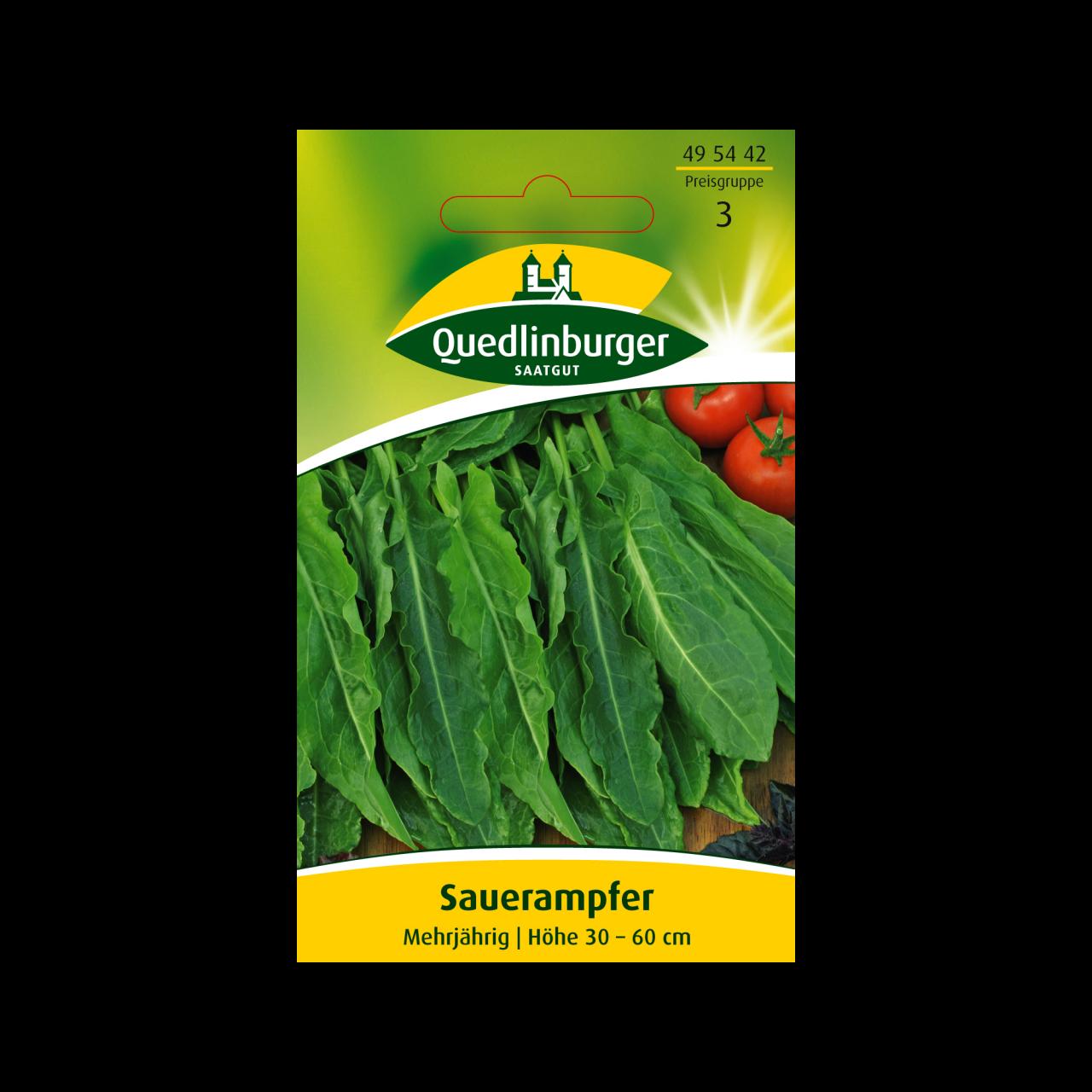 Quedlinburger Saatgut Sauerampfer Vorderseite